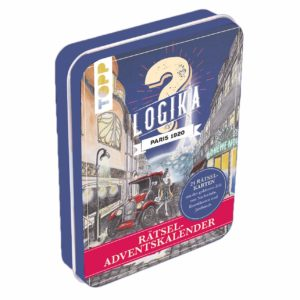 Rätsel-Adventskalender - Logika Paris 1920