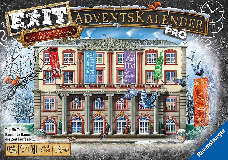 Ravensburger EXIT Adventskalender Das verrückte Zeitreisemuseum