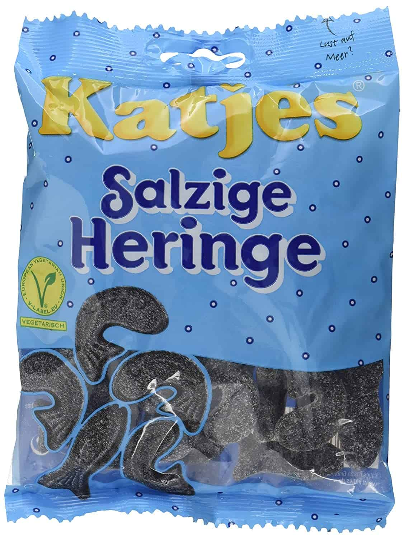 Salzige Heringe – Lakritz Heringe