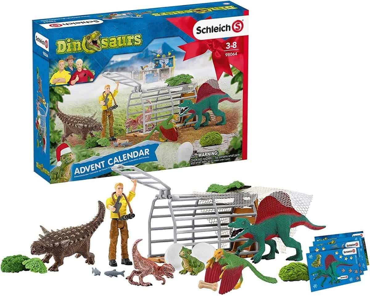 Dinosaurier-Adventskalender von Schleich