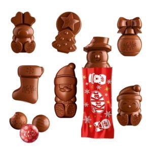 kitkat adventskalender inhalt schokolade